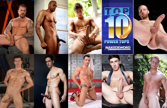 The Top Ten Power Tops of Summer 2016 At NakedSword